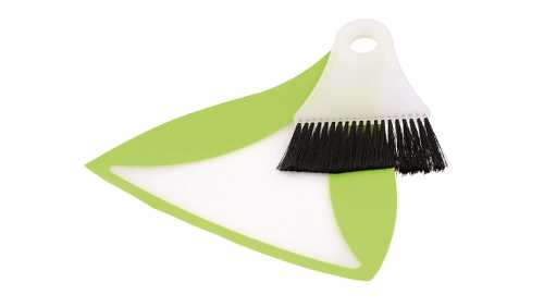 Outwell Broom & Dustpan Green