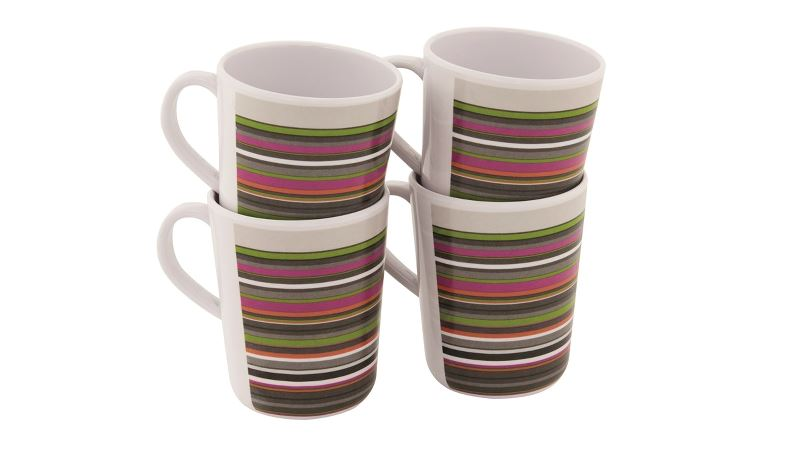 Outwell Blossom Mug Set Magnolia Red
